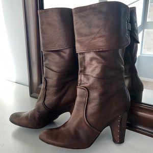 Frye Women's Mid-Heel Boot Size 10.5